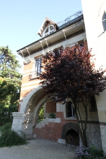 La façade arrière (détail)