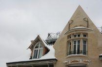 La façade principale (détail)