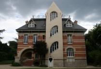 La façade arrière