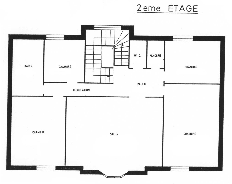 La villa la hubloti re villa berthe for Plan interieur de maison